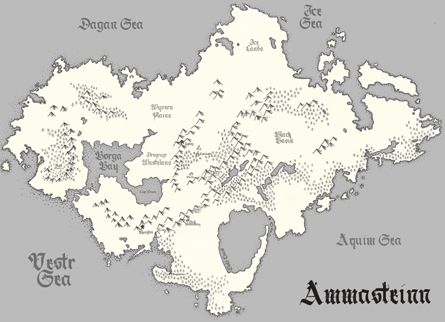 Amenstein Map