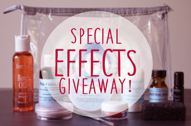 Special Effects Giveaway + News