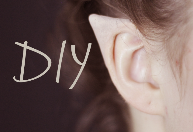 DIY Elf Ears + How to Apply