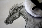 Drawing a Dragon Horse