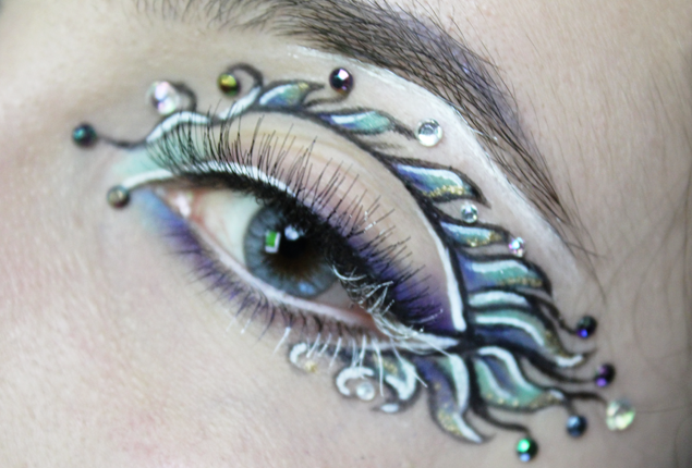 Pisces Eye Close Up