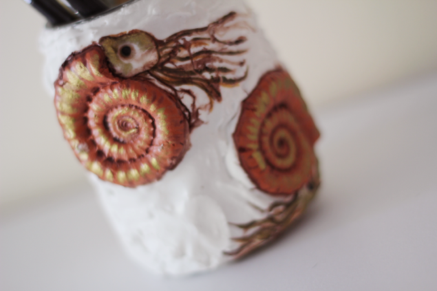 Jurassic Ammonite Jar