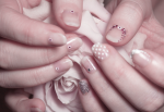 Six Easy Bridal Nail Designs