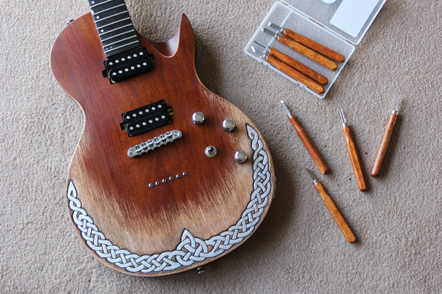 Carving a Guitar